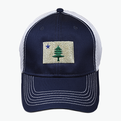 Maine Flag Hat Belted Cow Company