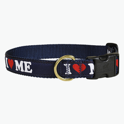 I love Maine Dog Collar Belted Cow Company